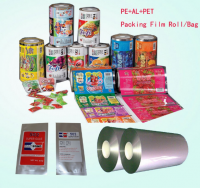 Noodles bopp lamination film roll / food packing film with printing