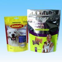 250g 500g 1kg ziplock stand up kraft paper bag for food dog pet food pack