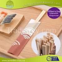Hot sell Chinese tableware bamboo and wood chopsticks