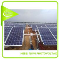 Single-axis solar tracking system
