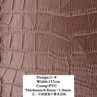 PVC leather for decorative Huanghong PVC Synthetic Artificial Leather