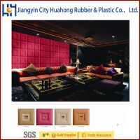 In stock pu/pvc synthetic leather Huahong PVC Synthetic Artificial Leather