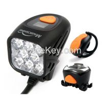 Magicshine remote control led bicycle light kit for front rear light