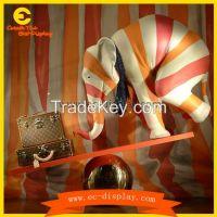 Louis Vuitton Brands window display props large fiberglass elephant st