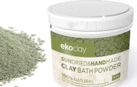 CLAY BATH POWDER FOR DETOX AND PEDICURE