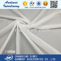 50D polyester woven fusible interlining fabric