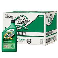 Quaker State 5W-30 Motor Oil - 1 Quart Bottles - 12 Pack