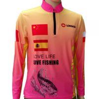 Digital Sublimation Printed Long-Sleeved Ice Silk Fishing Shirts