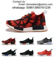 Free Shipping Originals NMD Runner PK Primeknit Sport shoes Men's & Women's Original NMD Runner Primeknit Sneakers NMD Human Race Running Shoes