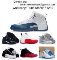Free shipping Retro 12 men basketball shoes High quality women basketball boots retro 12s basketball sneakers
