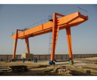 5T-100T Rail Mounted MG  Model Double Girder Gantry Crane Manufacture