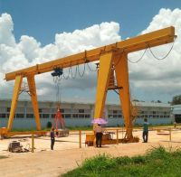 3 ton to 16 ton MH Model Box Type Electric Hoist Single Girder Gantry Crane Price