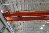 ISO Certificated QD model double girder electric overhead traveling bridge crane 20ton