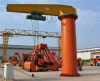 0.5-20 ton Fixed on ground Column Mounted Jib Crane With Hoist Price