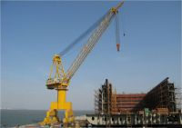 Made In China Shipbuilding Shipyard And Port Used Single Jib Or Four Link Portal Crane Manufacture