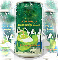 Fresh Coconut Water with Different Refreshing Flavors