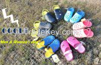 The Most Popular with Basic Design Classic Color Clogs, Upper with Bre