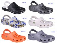 The Most Popular with Basic Design Classic Color Clogs, Upper with Breathable Hole Garden Shoes