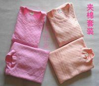 thermal underwear sets 100% cotton long underwear long john