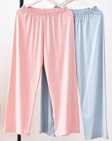 unisex pajamas jersey cotton sleep wear panties long sleep pants