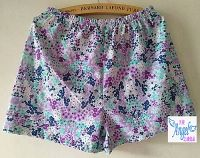 printed cotton pajamas  jersey cotton sleepwear sleep shorts