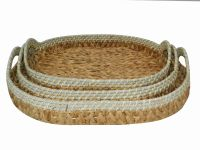 Bamboo/ Rattan/ Water hyacinth Serving trays