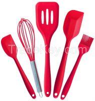factory supply FDA silicone spatula bakeware sets