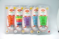 Factory price Elastic Silicon No Tie Shoelace for Kid & Adult
