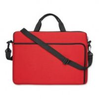 Laptop Pouch Bag In Red Neoprene - Promotional Products