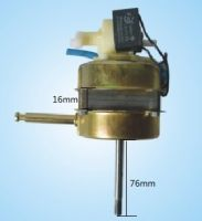 100% copper wires standing fan motor with capacitor