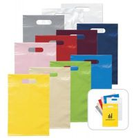 Die-cut plastic bag for shopping/promotion