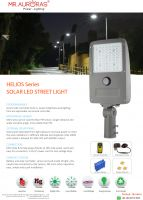 HELIOS solar street light