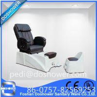 Doshower portable pedicure spa with pedicure foot rest