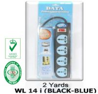 DATA Extension socket WLi Series with Intelligent switch, Fire Durable, Universal Socket