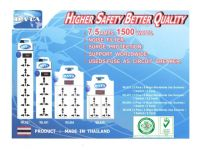 DATA Extension socket (Higher Safety Better Quality)Support Worldwide, Surge Protection, Noise filter 7.5 AMP 1500WATT