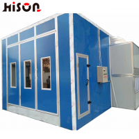 HB30 CE approved infrared diesel heating Car spray booth paint booth paint cabinet