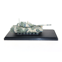 1:72 T-14 ARMATA diecast static tank models for collection