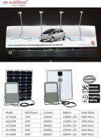 Exclusive design solar flood light billboard light 15w