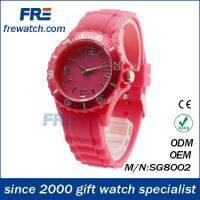 China factory watch accept mixed color order wholesale silicone children watch