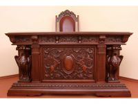 The Cabinet of the author's work (oak)