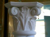 Wooden carved decoration for furniture (handmade)