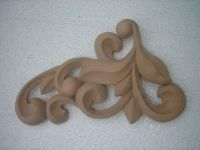 Wooden carved decoration for furniture (handmade)