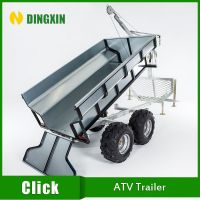 ATV Wood trailer with CE certification