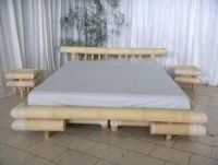 High Quality Knock Down Bamboo Bed