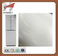 Flower film coated metal laminated steel sheet for refrigerator
