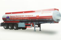 Truck tanker without chassis for exporting