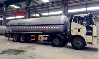 Semi-trailer and tank truck for LNG, etileno Cryogenic liquid