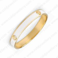 White color Fashion enamel bangles