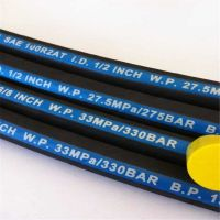 SAE 100 R2AT Hydraulic Hose / Steel wire braided hydraulic hose EN 853 2SN with MSHA Approved Tough Cover