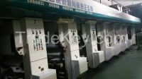 Used of China Hot Sale 8 Colors Rotogravure Printing Press